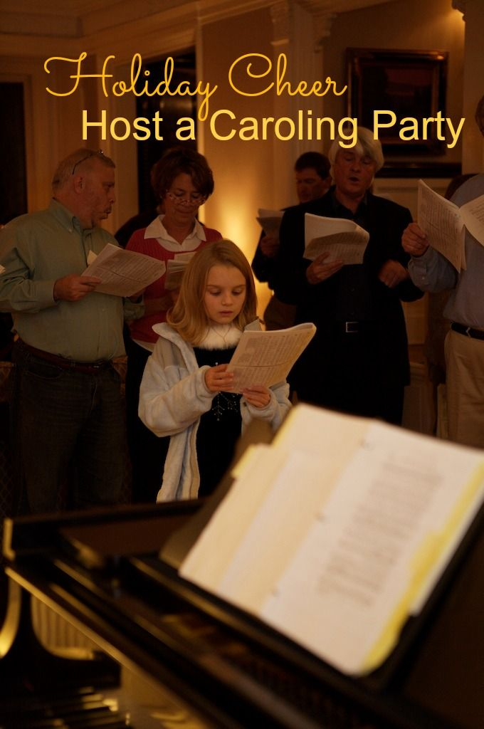 Neighborhood Christmas Party Ideas Part - 28: PARTY THEME: HOST A NEIGHBORHOOD CAROLING PARTY FOR THE HOLIDAYS