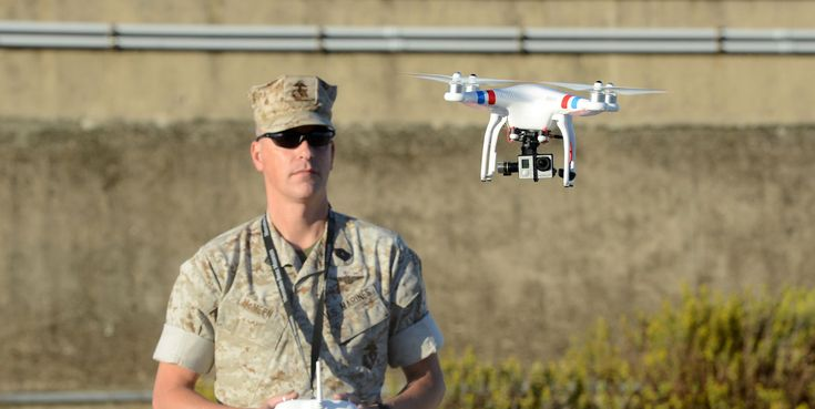 The Marine Corps' Latest Weapon Is a Quadcopter