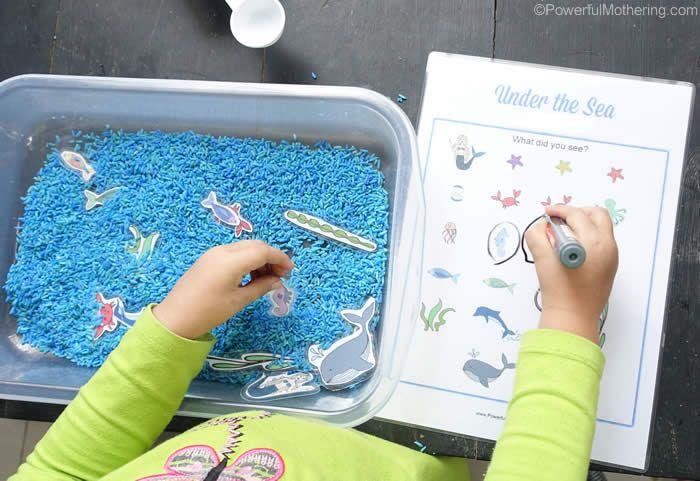 how to make a pretend fish
