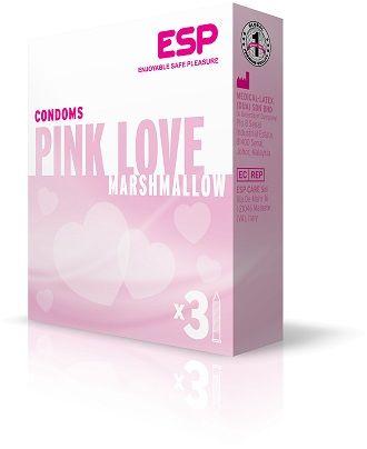 Ροζ προφυλακτικά με ραβδώσεις, γλυκό διεγερτικό άρωμα και επιπλέον λιπαντικό για μεγαλύτερη άνεση και διασκέδαση