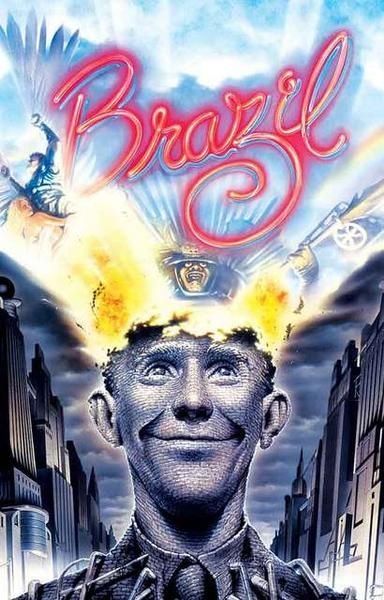 A great poster for Terry Gilliam's 1985 film Brazil! One of the most visually amazing films ever made :) Ships fast. 11x17 inches. Need Poster Mounts..?