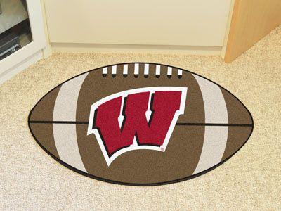 University of Wisconsin Football Mat