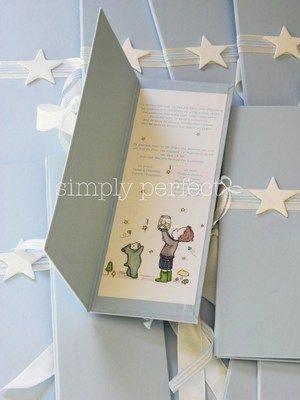 """Προσκλητήριο """"βιβλίο"""" με σκληρό εξώφυλλο  ΚΩΔ PR002"""