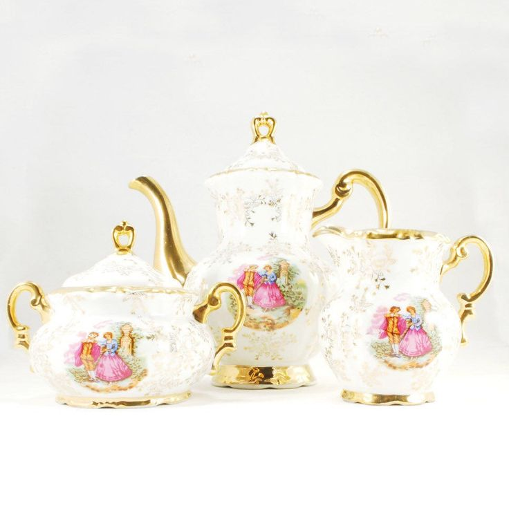 Have the best Easter brunch with this lovely vintage teaset, find this one and many more in our little shop!