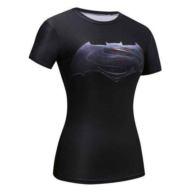 Marvel Superman 3D Comic T-Shirt for Women