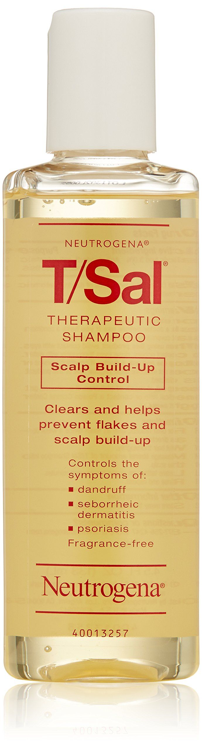 Neutrogena T/Sal Shampoo Scalp Build-Up Control, 4.5 Fl oz.