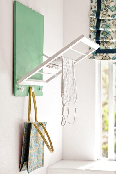 Easy DIY drying rack | thisoldhouse.com