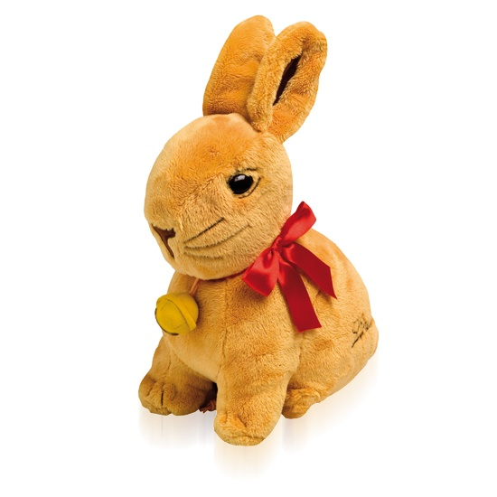 Gold Bunny Soft Toy With Mini Bunnies #WinEasterChocolateWithLindt