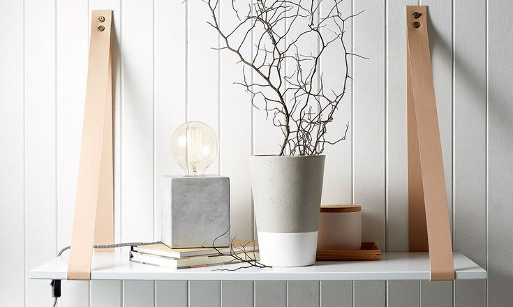 3-top-tips-for-styling-your-home-with-concrete. 1. Balance Textures and materials - Kmart