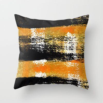Four Energies Throw Pillow by Alina Sevchenko - $20.00
