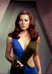 Ms Sherry Jackson.  1960s Star Trek girl.