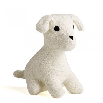 I can totally see my future munchkin carting this foundling around.  This little puppy is made of 100% U.S.-grown organic cotton and has a filling of 100% unbleached cotton fibers. The eyes are embroidered, so there are no parts that can be swallowed. $32: Organic Puppy, Dogs, Dog Foundling, Puppys, Dog Toys, Branch 25 60, Free Organic