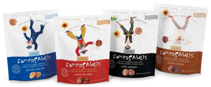 let's do Somersaults for this snack #packaging PD #standuppouch #zipper #sachet #zip #plastiques #sacs #emballage #souple #packaging