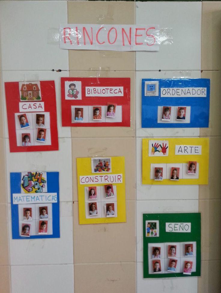 Rincones aula primaria buscar con google aula for Actividades para el salon de clases