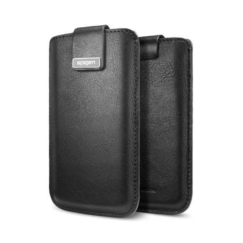SPIGEN SGP iPhone 5 Leather Pouch Crumena Slim Black