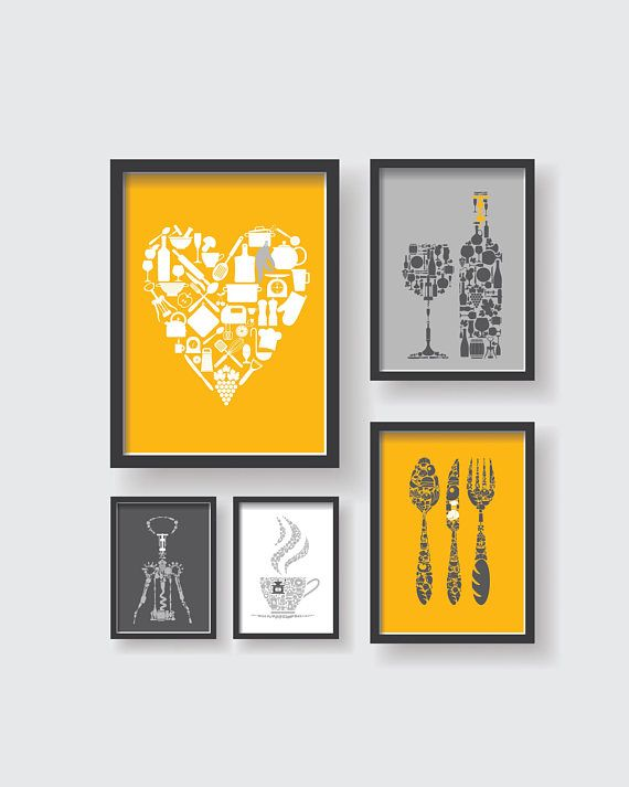 The 265 best Posters, Prints, Wall Art, Typography, Kitchen Poster ...
