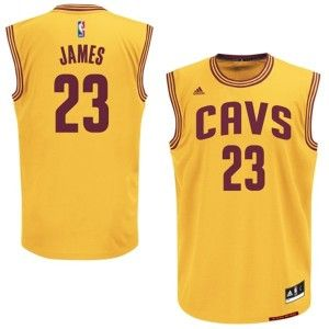 Mens Cleveland Cavaliers LeBron James Number 23 Jersey Yellow http://www.supernbajerseys.com/mens-cleveland-cavaliers-lebron-james-number-23-jersey-yellow-187.html