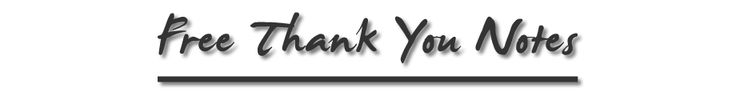 free thank you notes wording thank you note samples
