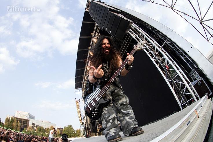 Black Label Society la Tuborg GreenFest – Rock the City 2012