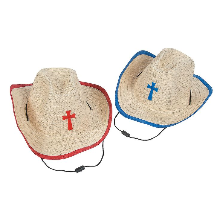 Kids'+Cowboy+Hats+with+Cross+-+OrientalTrading.com