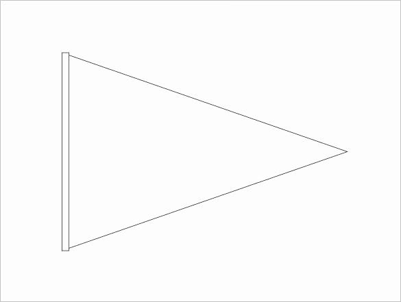 Microsoft Word Banner Template New Pennant Banner Template Microsoft Word Pennant Banner Template Printable Banner Template Triangle Banner