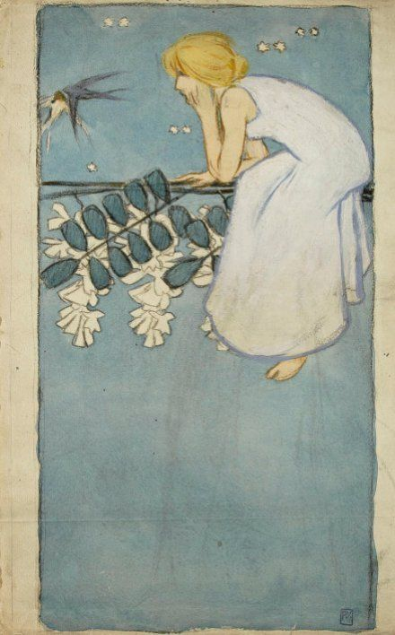 Sketch byVojtěch Preissig, 1903. www.esbirky.cz, CC0