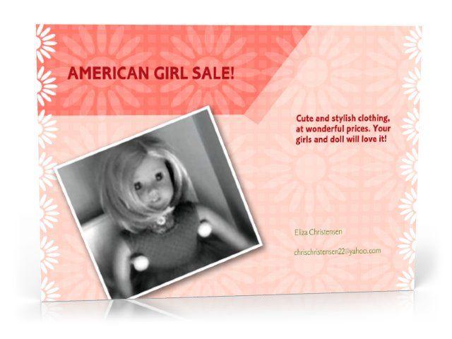 Cute outfits that fit the American Girl Doll at afordable prices!
