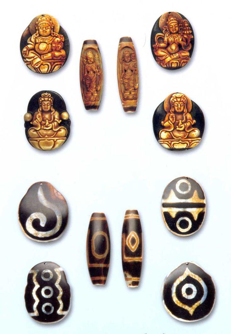 The Myth and Mystery of Tibetan Dzi Stone Beads