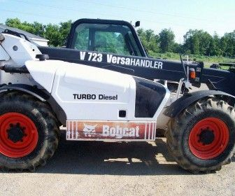 Find best deals on Bobcat V723 Forklift. The Carmody crane LLC dealer provides all different varieties of #Bobcat #Forklift for sale. This 2006 Bobcat V723 is well maintained machine and looking solid in white color. If you need more details then click on @ http://www.hifimachinery.com/used-machinery/2006/forklift/bobcat/v723/2533/