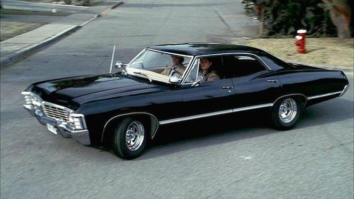 Supernatural Impala Chevy Impala Chevroletimpala1967 Chevy