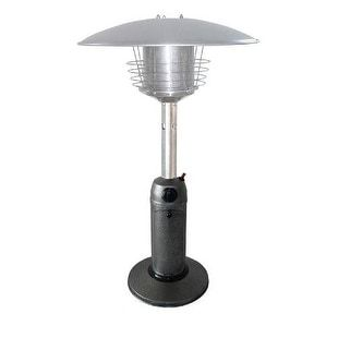PrimeGlo HLDS032-C Tabletop Propane Patio Heater - hammered silver, Outdoor Décor