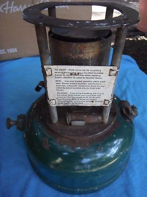 US Army medical Department single burner  Coleman stove, 1942 date