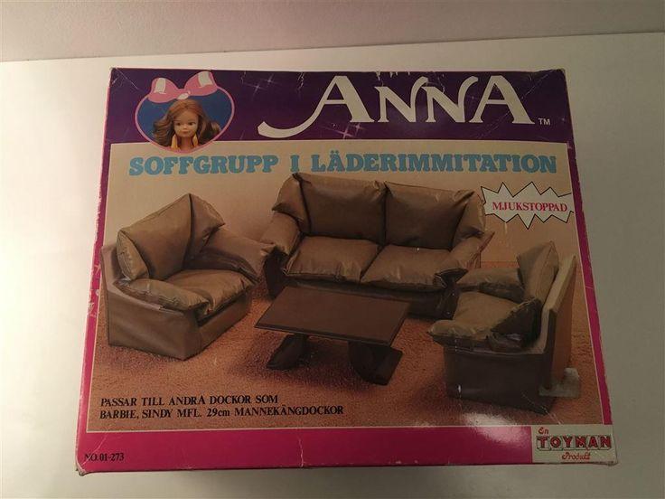 Möbler till Barbie, Sindy, m.fl. - dockmöbler, samlarobjekt, retro på