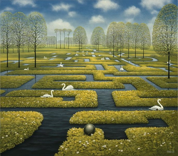 21 Mind Blowing Oil Paintings by Jacek Yerka - Dream World Revealed on Canvas
