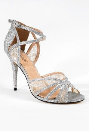 High Heel Lace and Glitter Ankle Wrap Sandal from Camille La Vie and Group USAWraps Sandals, Group Usa, Ankle Wraps, Glitter Ankle, La Vie, Heels Lace, Camille The, High Heels