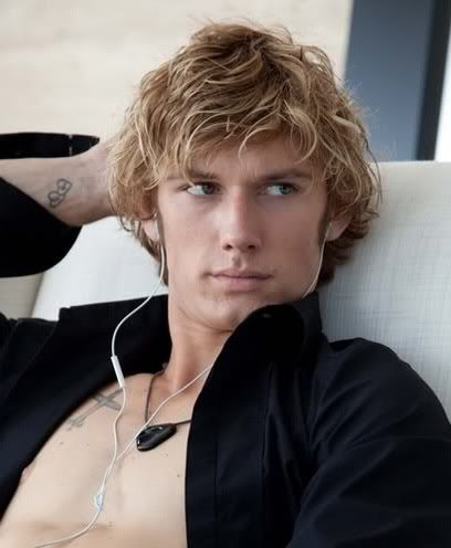Okay so if they were going to make a movie from the Fifty Shades this guy should SOOOO play Christian!