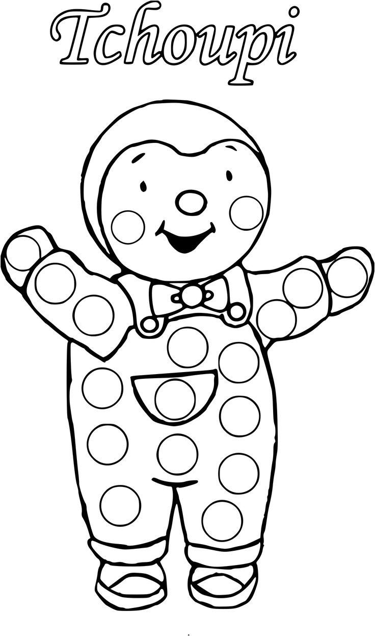 coloriage tchoupi et doudou a imprimer gratuit | Autumn nails, Bricolage halloween, Toddler crafts