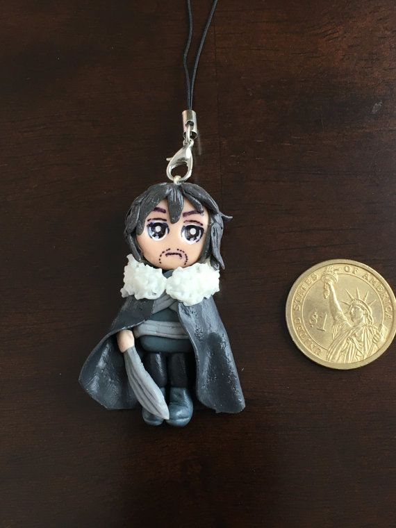 Game of Thrones Characters keychains phone tags by CasaDePaloma