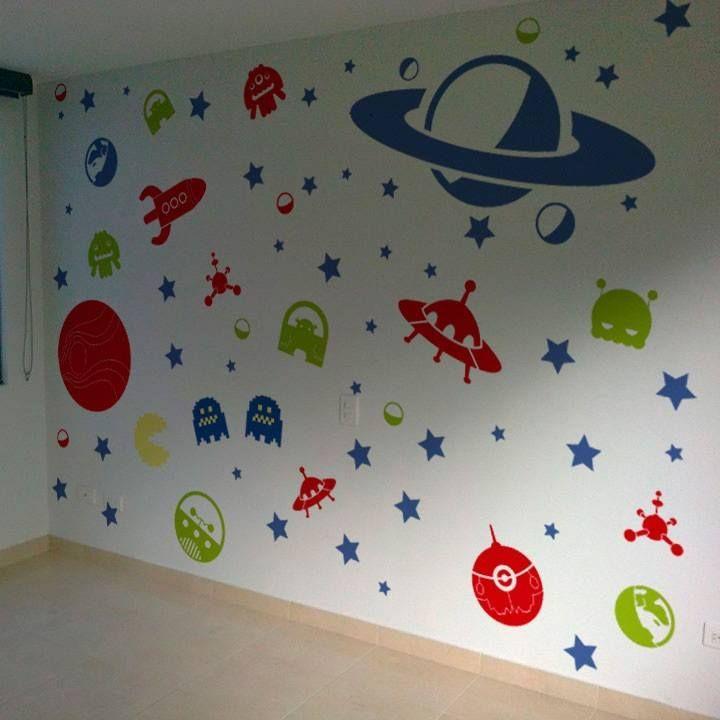 El cuarto de los niños es un universo de decoración