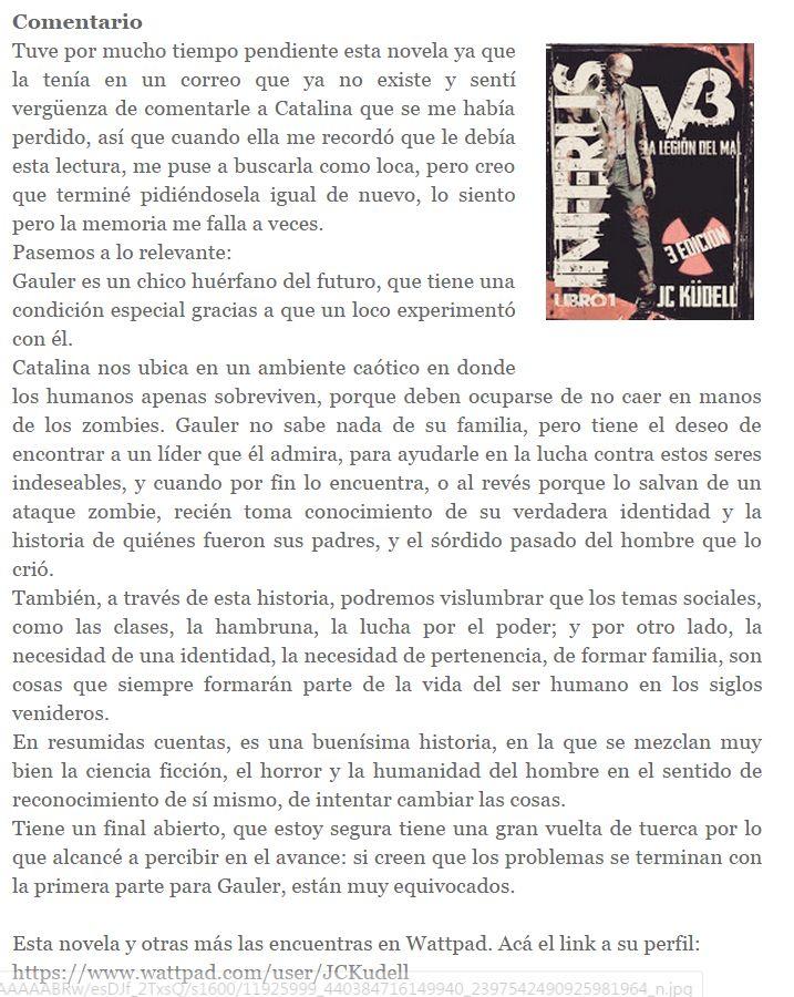 Inferus V3, La legión del mal / Libro 1, por Catalina Küdell