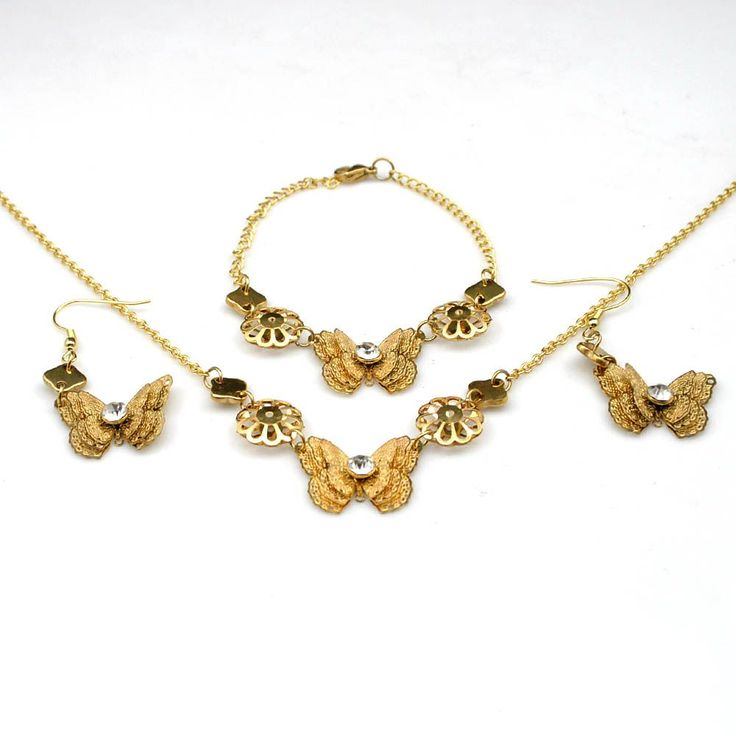 Butterfly Jewelry Set // Price: $15.95 & FREE Shipping //  We accept PayPal and Credit Cards.    #jewelry