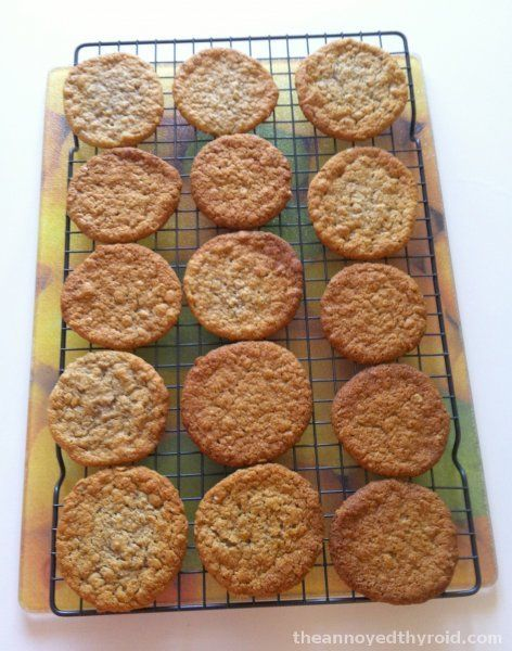 Chantal's Thermomix Anzac Biscuits - the best ever!