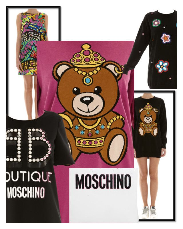 """Moschino New Collection is Here!!!"" by brunarosso-eshop on Polyvore featuring moda e Moschino"
