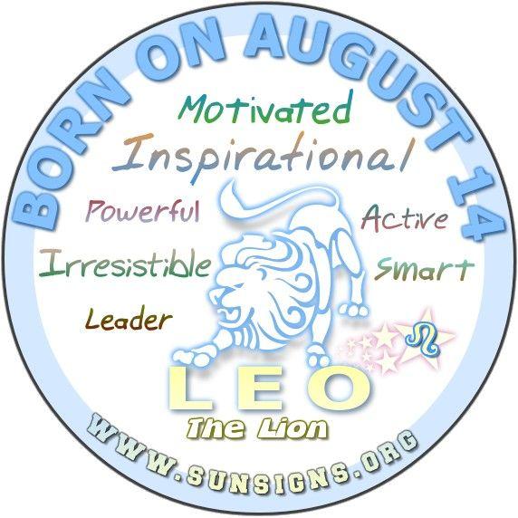 August 14 Birthday Horoscope Personality