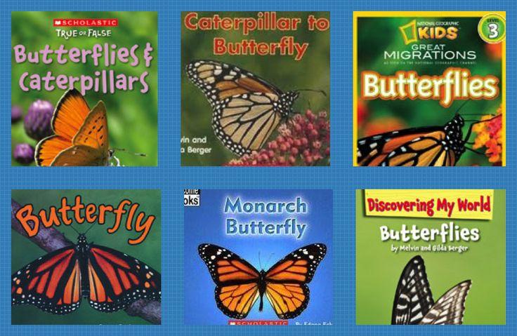 butterfly books for kindergarten | School Ideas | Pinterest