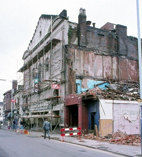 Windsor Water Tower Demolition : Best images about scaffolding past on pinterest