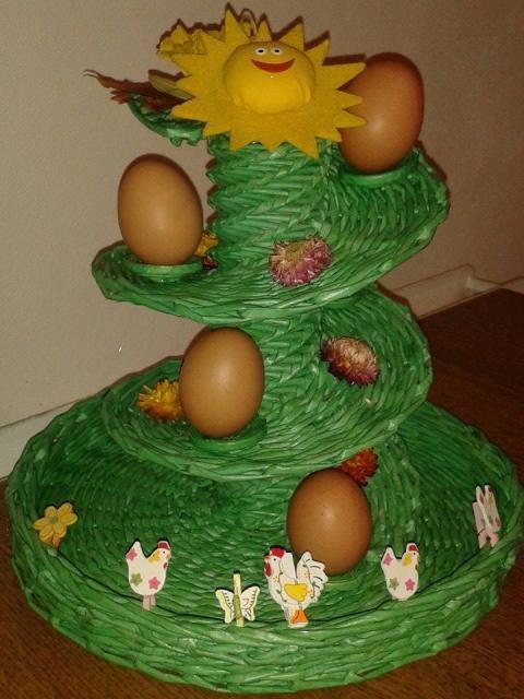 Stojan na vajíčka