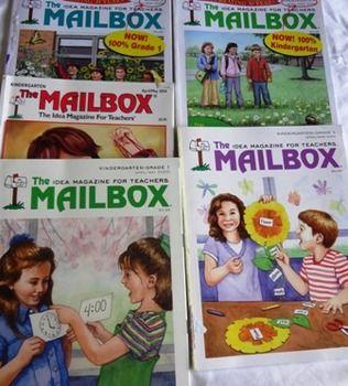 Mailbox Magazines - April/May 2004,2005,2007,2009 Kinderga