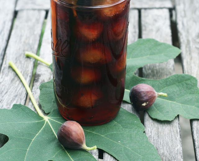 Port and Spice Pickled Figs by Rachel Rappaport
