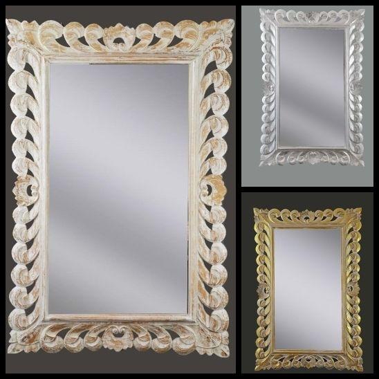 Incantevoli specchi da parete 3 colori specchiera 120x80 - Specchi particolari da parete ...